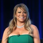 Mariah Carey of &#8216;American Idol&#8217; speaks onstage during the FOX portion of the 2013 Winter TCA Tour at Langham Hotel on January 8, 2013 in Pasadena, Calif.