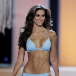 Miss Alabama USA Katherine Webb competes in the swimwear competition during the 2012 Miss USA pageant at the Planet Hollywood Resort & Casino on June 3, 2012