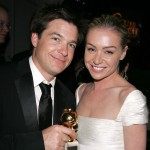 Jason Bateman and Portia de Rossi poses at the Fox Golden Globe After Party at the Beverly Hilton Hotel on January 16, 2004
