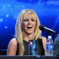 Britney Spears attends FOX&#8217;s &#8216;The X Factor&#8217; season finale news conference at CBS Television City on December 17, 2012