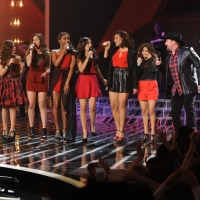 Finalists Carly Rose Sonenclar, Fifth Harmony and Tate Stevens perform during 'The X Factor' Season 2 finale, Dec. 20, 2012