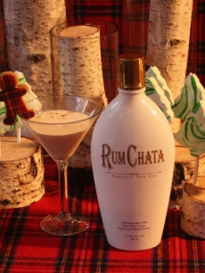 RumChata Gingerbread Martini
