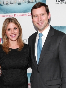 Jenna Bush Hager and husband Henry Chase Hager attend &#8216;A White House Christmas: First Families Remember&#8217; Premiere Party at Tenjune, New York City, on December 12, 2012