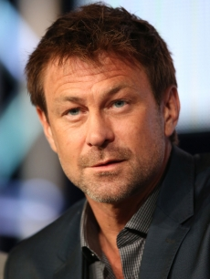 Grant Bowler speaks onstage at the 'Defiance' panel discussion during the Syfy portion of the 2013 Winter TCA Tour- Day 4 at the Langham Hotel on January 7, 2013 in Pasadena, Calif
