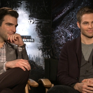 Chris Pine &amp; Zachary Quinto Talk Star Trek Into Darkness
