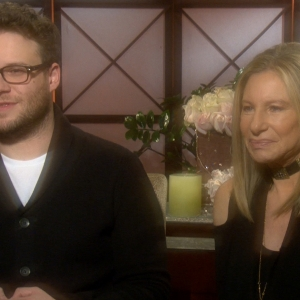 Seth Rogen &amp; Barbra Streisand Talk Bonding During Guilt Trip