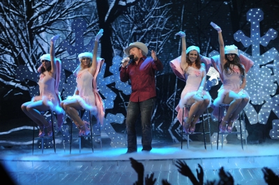 Tate Stevens performs during &#8216;The X Factor&#8217; Season 2 final, Dec. 20, 2012