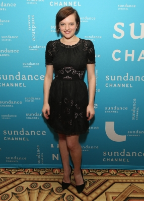 &#8216;Mad Men&#8217; star Elisabeth Moss spotted at the Sundance Channel 2013 Winter TCA Panel at The Langham Huntington Hotel and Spa in Pasadena, Calif., on January 5, 2013 