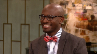 Taye Diggs on Access Hollywood Live, Dec. 12, 2012