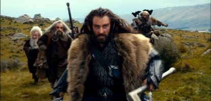 Thorin Oakenshield, played by Richard Armitage in 'The Hobbit'