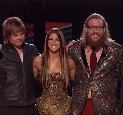 The final 3 on 'The Voice'
