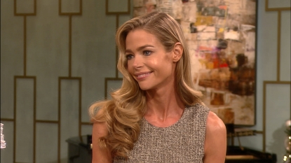 Denise Richards stops by Access Hollywood Live on December 19, 2012