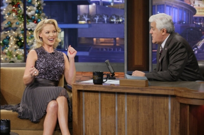 Katherine Heigl visits &#8216;The Tonight Show with Jay Leno,&#8217; Dec. 20, 2012