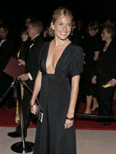 Sienna Miller looks amazing at the Awards Gala