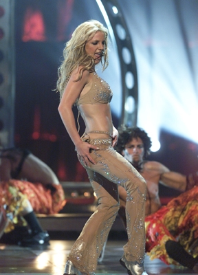 Classic Britney, performing in 2000