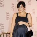 Lily Allen Cooper attends a drinks reception at the British Fashion Awards 2012 at The Savoy Hotel in London on November 27, 2012
