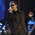 Justin Timberlake performs on stage during the Conde Nast Media Group's Fifth Annual Fashion Rocks at Radio City Music Hall on September 5, 2008 in New York City