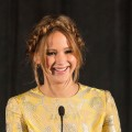 Jennifer Lawrence receives the award for Best Actress on stage at the 38th Annual Los Angeles Film Critics Association Awards held at the InterContinental Hotel, Century City, Calif., on January 12, 2013