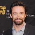 Hugh Jackman arrives at the BAFTA Los Angeles Awards Season Tea Party at Four Seasons Hotel Los Angeles at Beverly Hills on January 12, 2013
