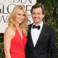 Claire Danes and Hugh Dancy arrive at the 70th Annual Golden Globe Awards held at The Beverly Hilton Hotel on January 13, 2013