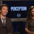 Eric McCormack & Rachael Leigh Cook Talk TNT's Perception