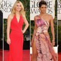 Taylor Swift, Claire Danes, Halle Berry and Anne Hathaway on the Golden Globes 2013 red carpet