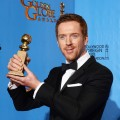 Damian Lewis, winner of Best Actress in a Television Show (Drama) for &#8216;Homeland,&#8217; poses in the press room during the 70th Annual Golden Globe Awards held at The Beverly Hilton Hotel in Beverly Hills, Calif., on January 13, 2013