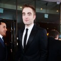 Robert Pattinson arrives at the 70th Annual Golden Globe Awards held at The Beverly Hilton Hotel on January 13, 2013