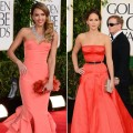 Jessica Alba/Jennifer Lawrence - 2013 Golden Globes