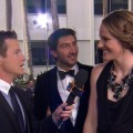 Golden Globes 2013: Missy Franklin & Evan Lysacek - Olympians On The Red Carpet!