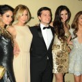 Vanessa Hudgens, Ashley Tisdale, Josh Hutcherson, Selena Gomez and Sarah Hyland attend The Weinstein Company's 2013 Golden Globes After Party held at The Old Trader Vic's in The Beverly Hilton Hotel on January 13, 2013 in Beverly Hills