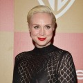 Gwendoline Christie attends the 2013 InStyle and Warner Bros. 70th Annual Golden Globe Awards Post-Party held at the Oasis Courtyard in The Beverly Hilton Hotel on January 13, 2013 