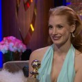 2013 Golden Globes Backstage: Jessica Chastain Discusses Her Struggles To Break Into Hollywood