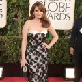 Tina Fey arrives at the 70th Annual Golden Globe Awards at The Beverly Hilton Hotel on January 13, 2013 in Beverly Hills