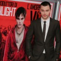 Nicholas Hoult attends the 'Warm Bodies' Premiere at Cinema Adriano, Rome, on January 16, 2013