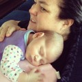Rosie O'Donnell and baby Dakota