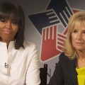 Michelle Obama & Jill Biden Discuss Importance Of Honoring Military Families