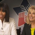 Michelle Obama & Jill Biden Dish On Inaugural Day Fashion