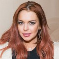 Lindsay Lohan attends Lonneke Engel And Valentina Zelyaeva Organice Your Life Annual Holiday Party at Time Warner Building on December 14, 2012 in New York City