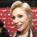 Sundance 2013: Jane Lynch Talks Tweeted Glee Photo &#8212; Is She Wearing A Wedding Dress?
