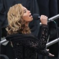 Beyonce performs the National Anthem during the public ceremonial inauguration for U.S. President Barack Obama on the West Front of the U.S. Capitol, Washington, D.C., January 21, 2013