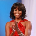 First Lady Michelle Obama attends the Inaugural Ball on January 21, 2013 in Washington, DC