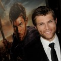 Liam McIntyre arrives at the premiere of Starz's 'Spartacus: War Of The Damned' at the Regal Cinemas L.A. Live, Los Angeles, on January 22, 2013