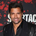 Manu Bennett arrives at the 'Spartacus: War Of The Damned' Los Angeles Premiere at Regal Cinemas L.A. LIVE Stadium 14 on January 22, 2013