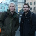 Benedict Cumberbatch as Julian Assange and Daniel Brühl as Daniel Domscheit-Berg in 'The Fifth Estate'