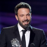 Ben Affleck accepts the Best Director Award for 'Argo' onstage at the 18th Annual Critics' Choice Movie Awards held at Barker Hangar on January 10, 2013 in Santa Monica, Calif.