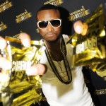 Shawty Lo backstage at Magnum Live Large Project at Phillips Arena, Atlanta, on June 19, 2010