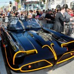 The Bat Mobile at a ceremony honoring Adam West with the 2,468th Star on the Hollywood Walk of Fame on April 5, 2012 in Hollywood