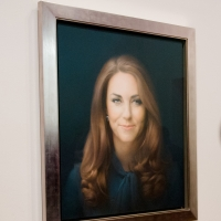 The first official portrait of Kate Middleton, Duchess of Cambridge, revealed January 11, 2013