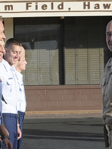 Terry O'Quinn behind the scenes at 'Hawaii Five-0' in 2011